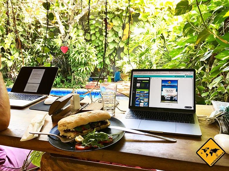 Dojo Bali Sandwich Essen