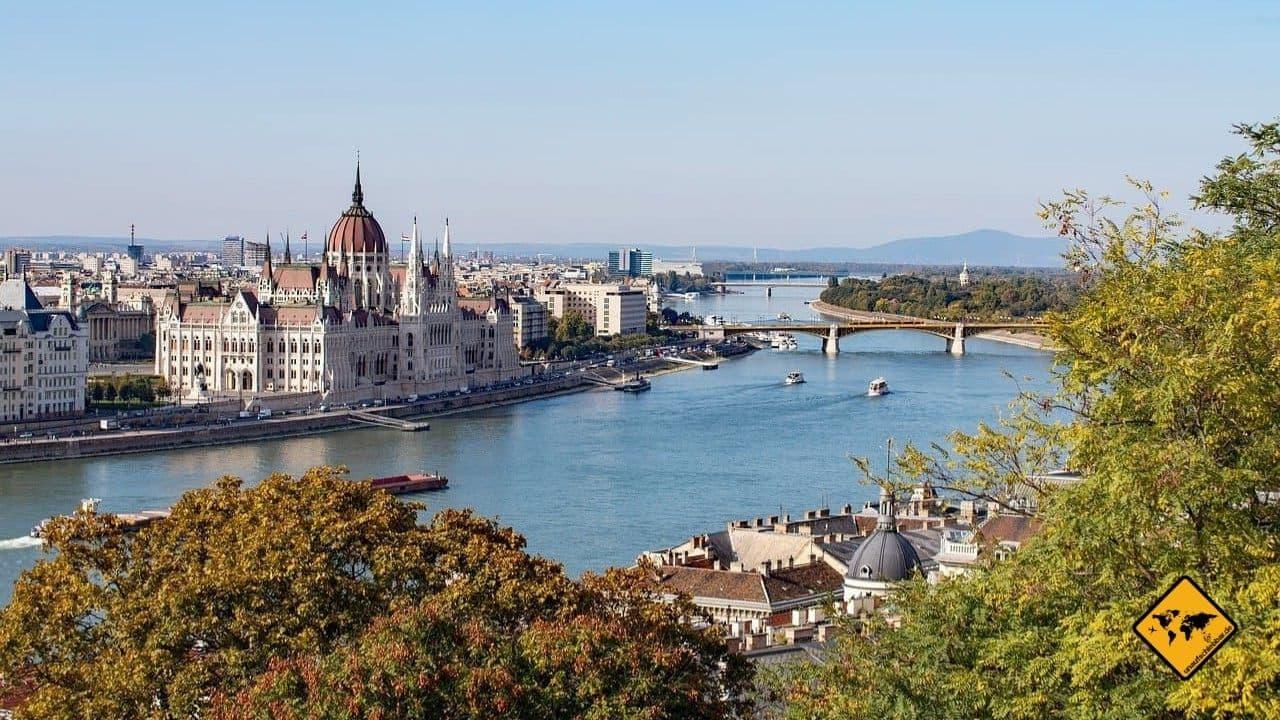 Donau Sehenswürdigkeiten Budapest