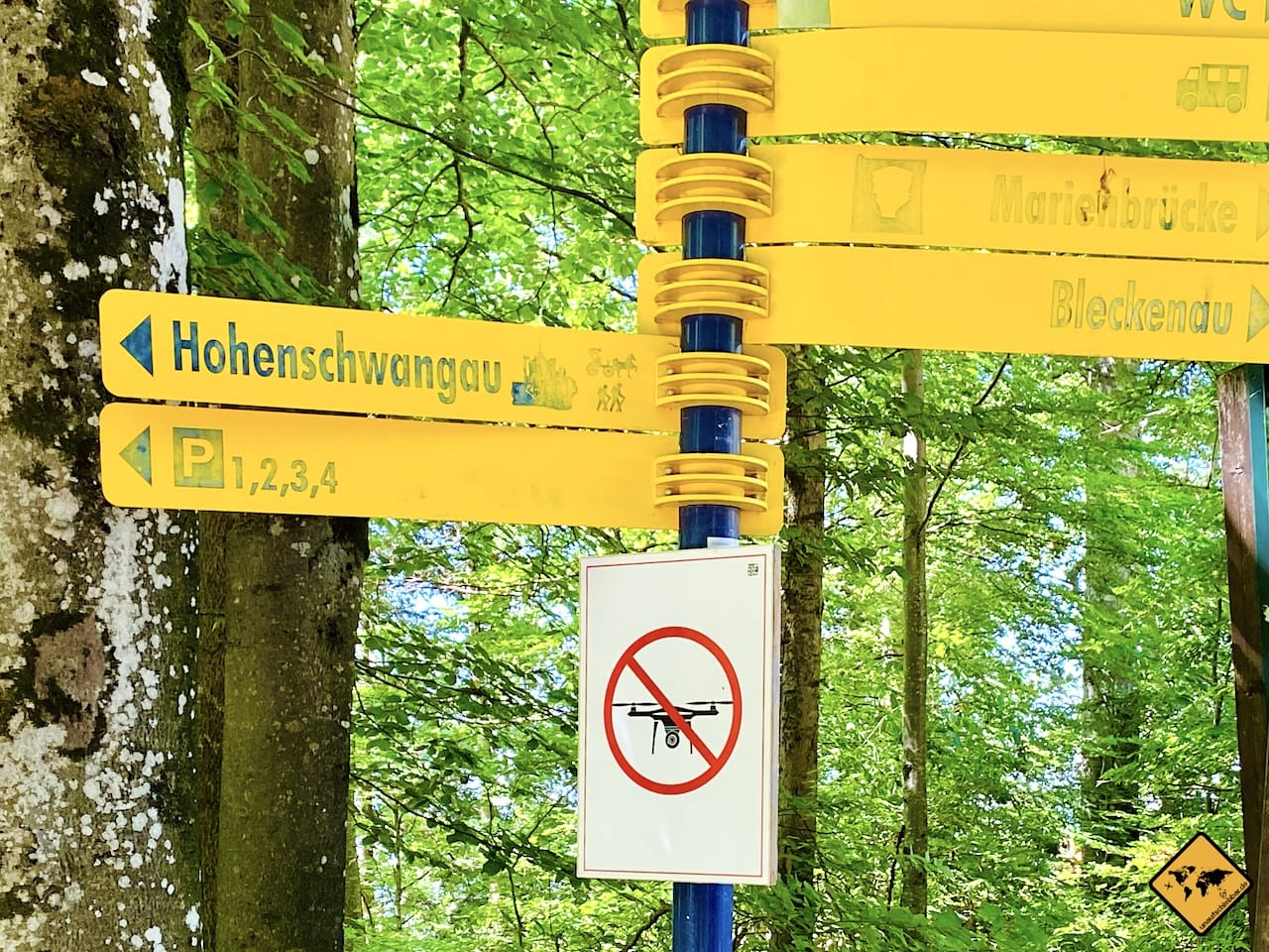 Drohnen Verbot Schloss Neuschwanstein