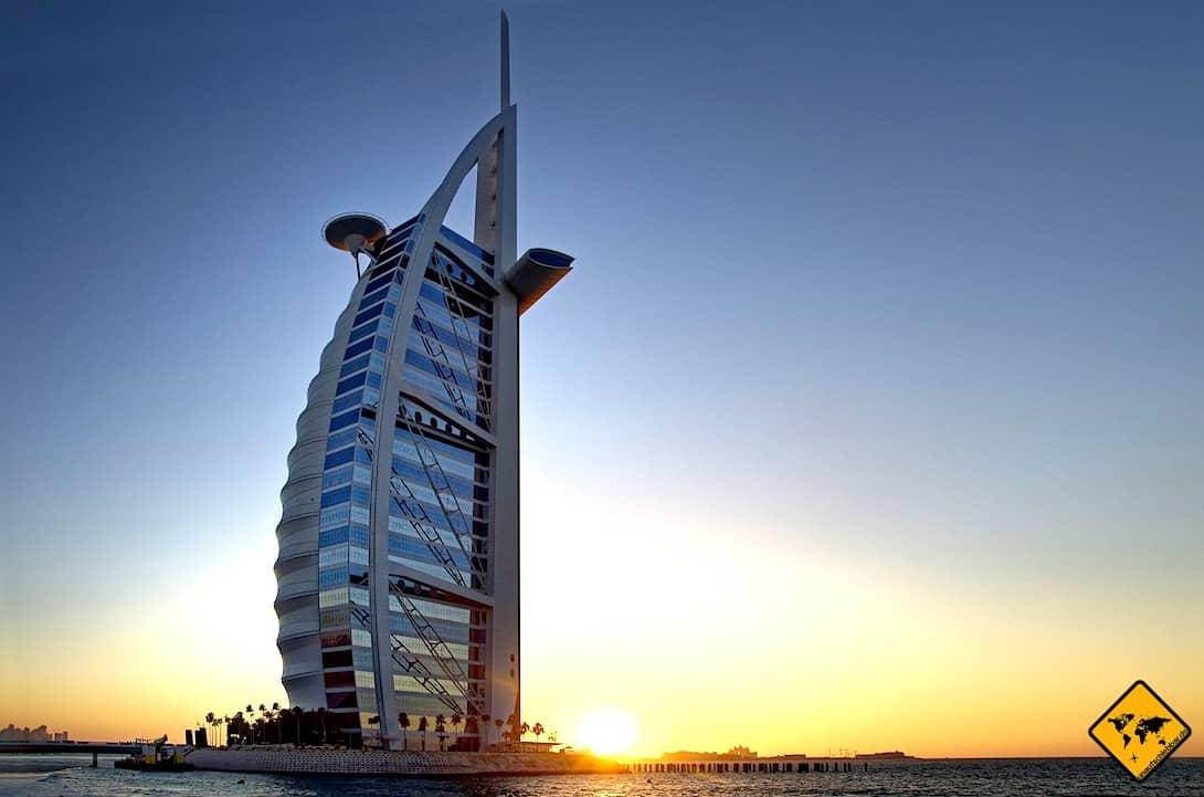 Dubai Ausflüge Burj Al Arab