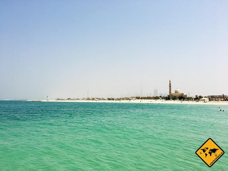 Dubai Sehenswürdigkeiten Top 10: Dubai Beach