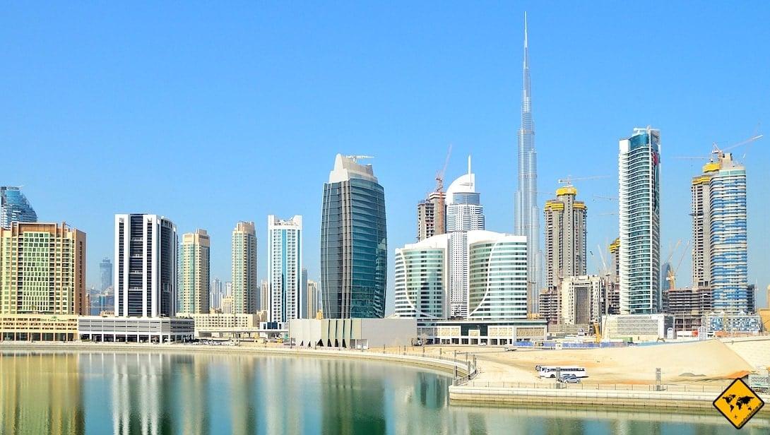 Dubai Blog Wolkenkratzer Skyline