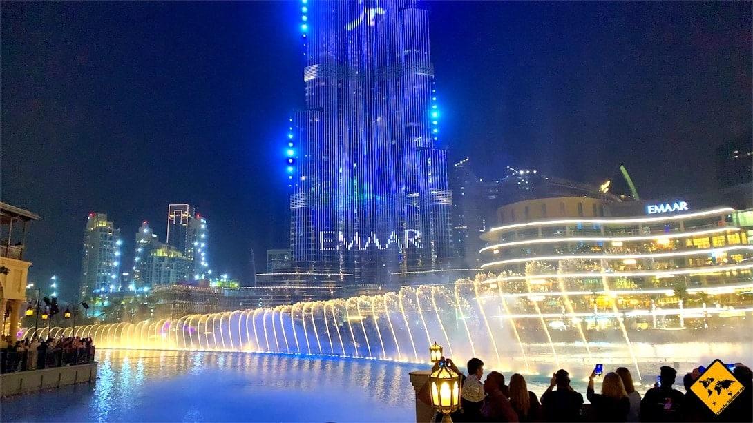 Dubai Fountain Emaar