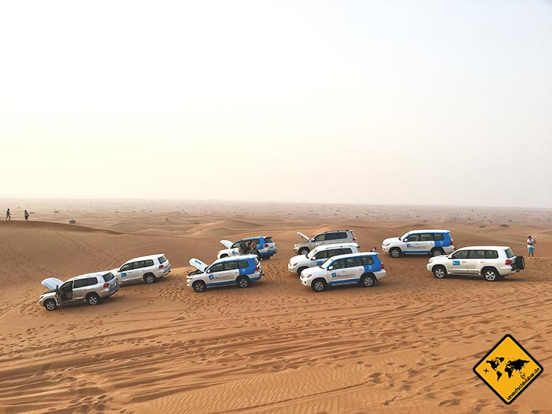 Unsere Dubai Highlights: Jeep Safari