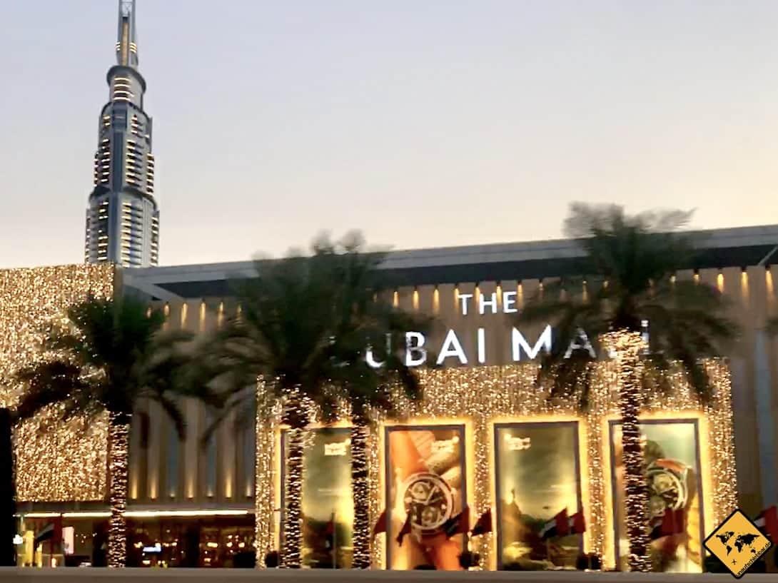 Dubai Mall außen