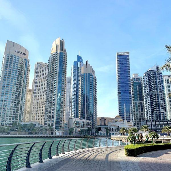 Dubai Marina Hafenpromenade