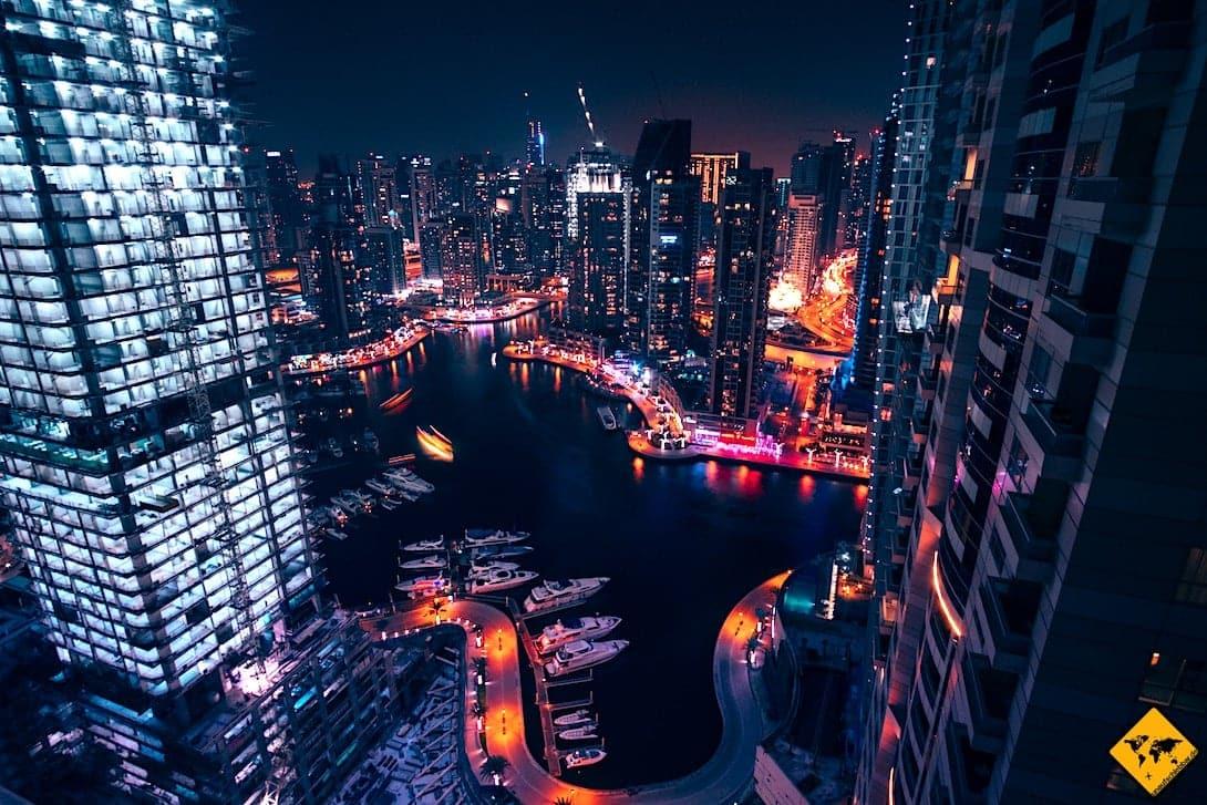 Dubai Marina Hotel Aussicht