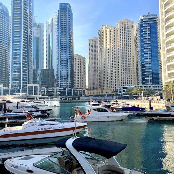 Dubai Marina Jachthafen