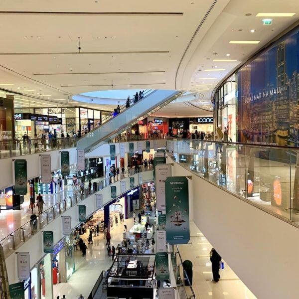 Dubai Marina Mall Etagen