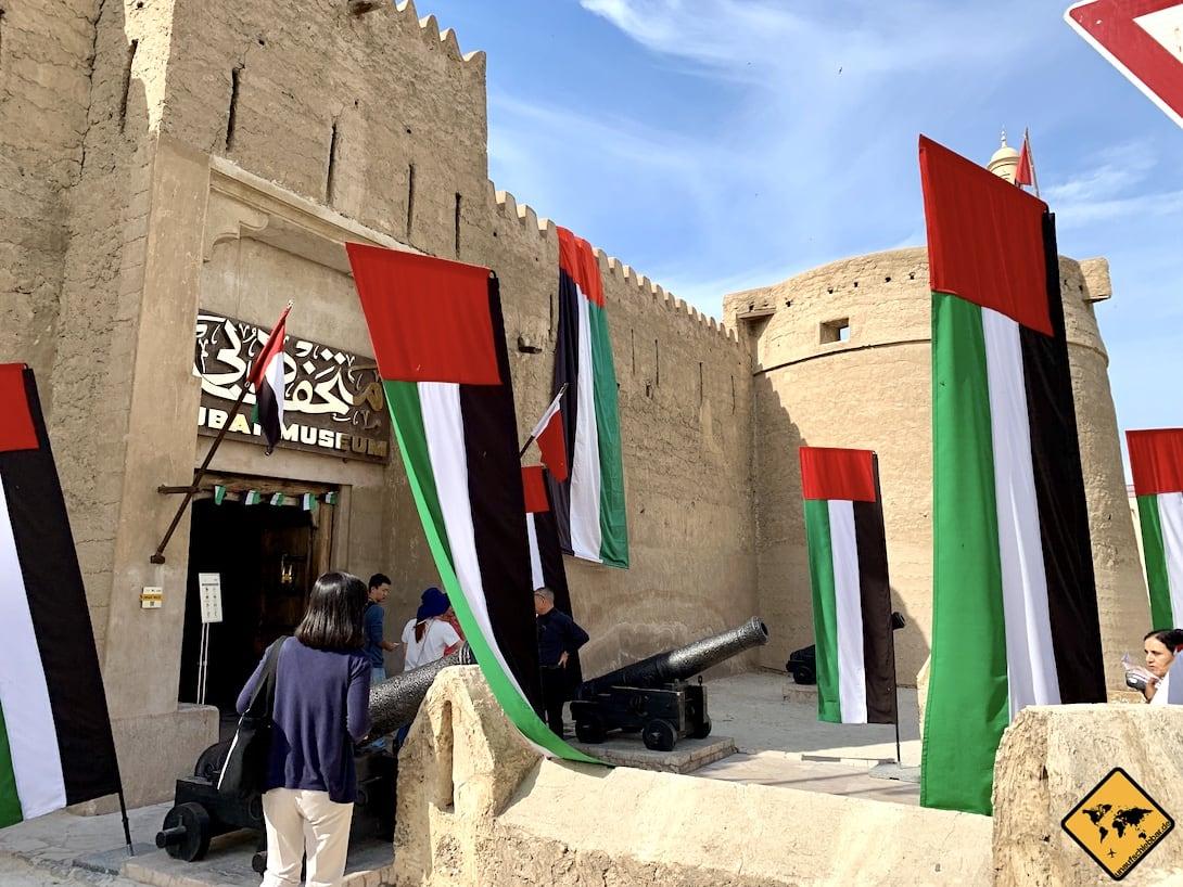 Dubai Museum Eingangsbereich