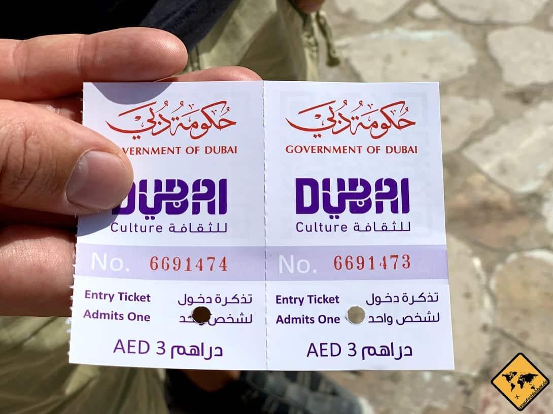 Dubai Museum Eintritt Ticket