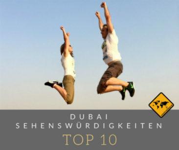 Top 10 Sehenswürdigkeiten in Dubai