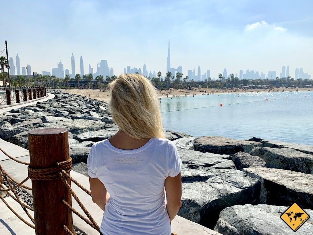 Dubai Skyline Strand