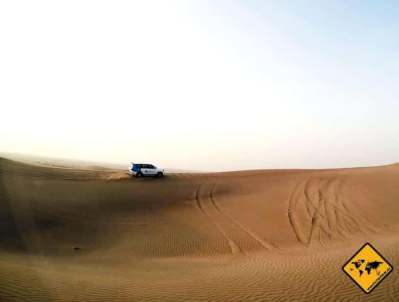 Dubai Wüstensafari mit Gelände Jeeps