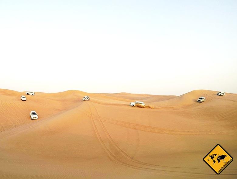 Dubai Wüstensafari mit Jeeps