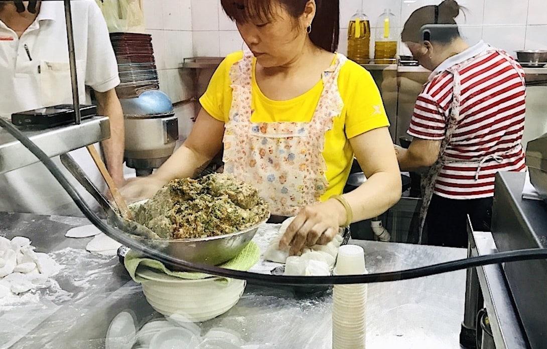 Dumplings Essen Singapur