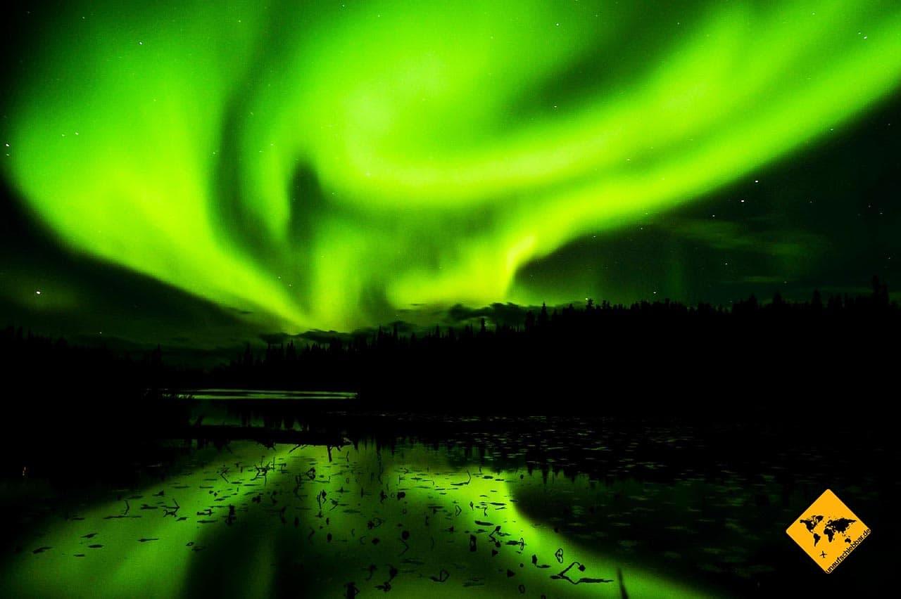 Kanada Visum aurora borealis Nodlichter