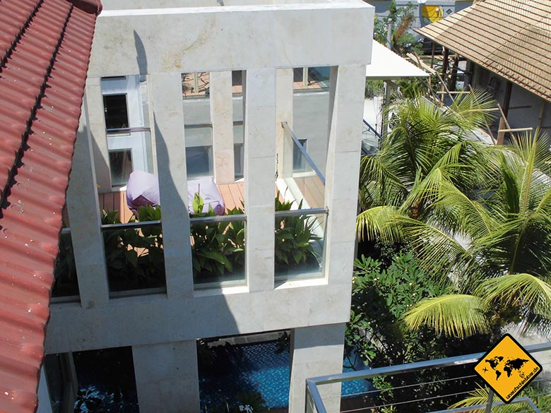 Echo Beach Resort Canggu Bali Gebäude