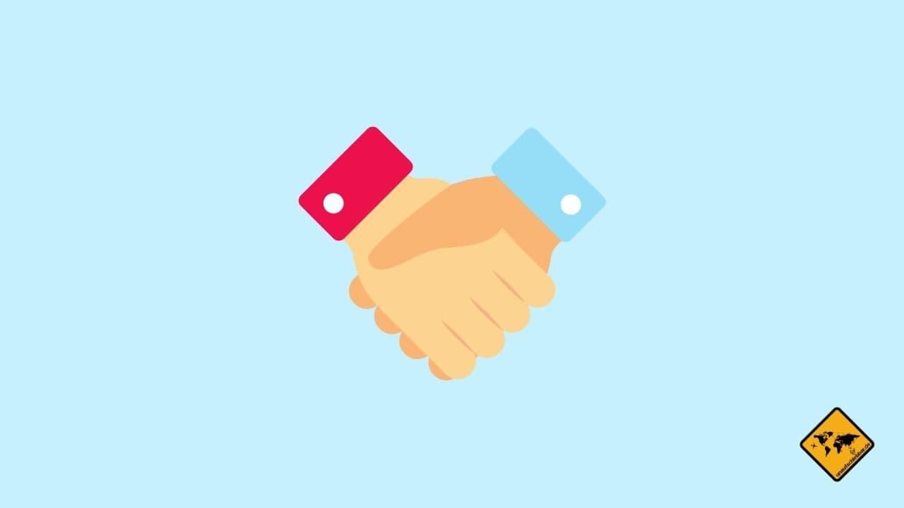 Ehrlich Handshake Produkttester