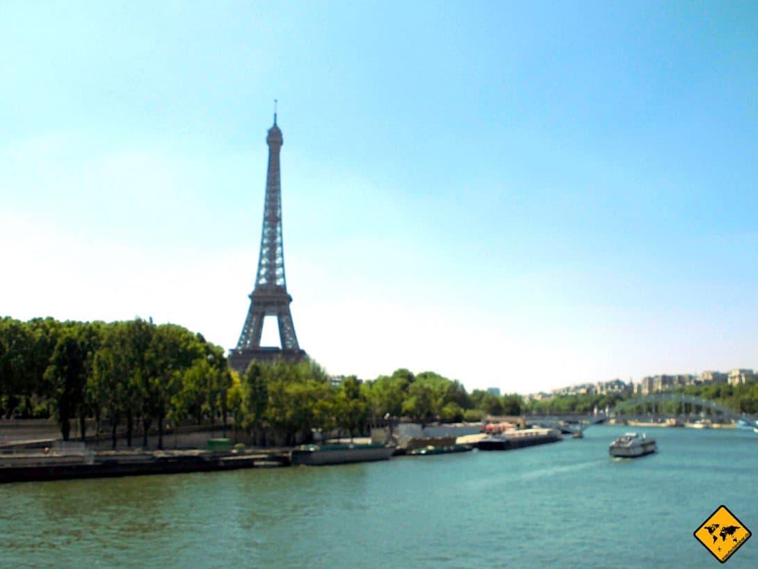 Eiffelturm Paris Frankreich Seine