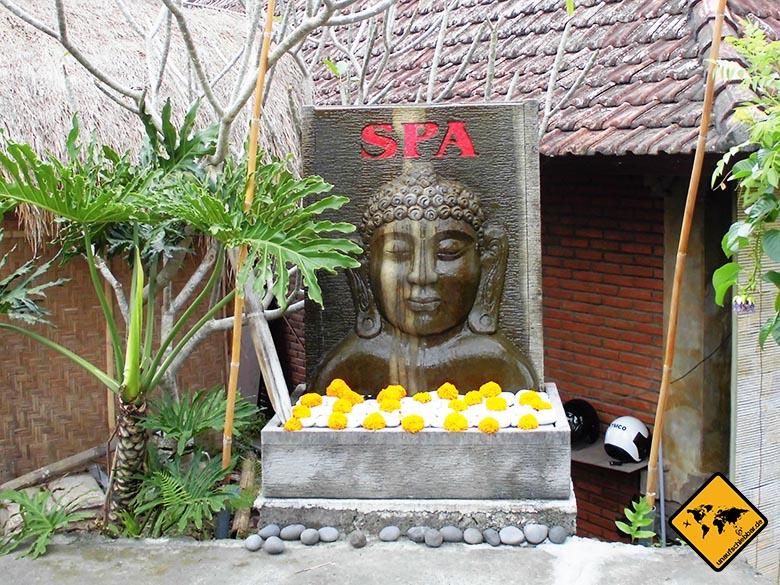 Ein Spa Besuch sollte auf deiner Bali Rundreise nicht fehlen