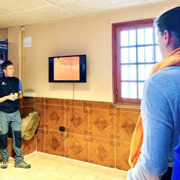 Einführung Tour Cueva del Viento Icod de los Vinos Besucherzentrum
