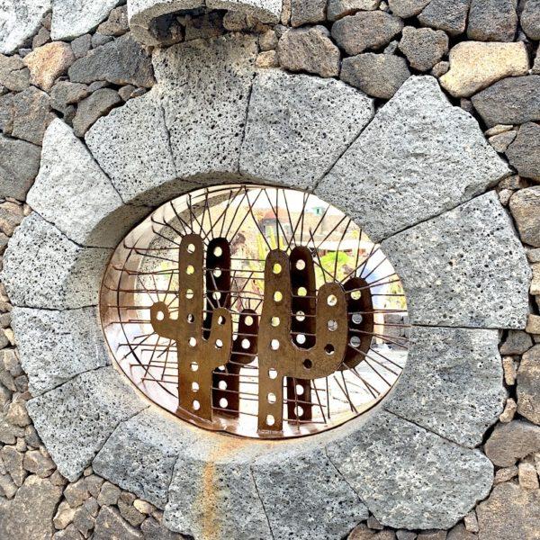 Eingang Jardín de Cactus Lanzarote