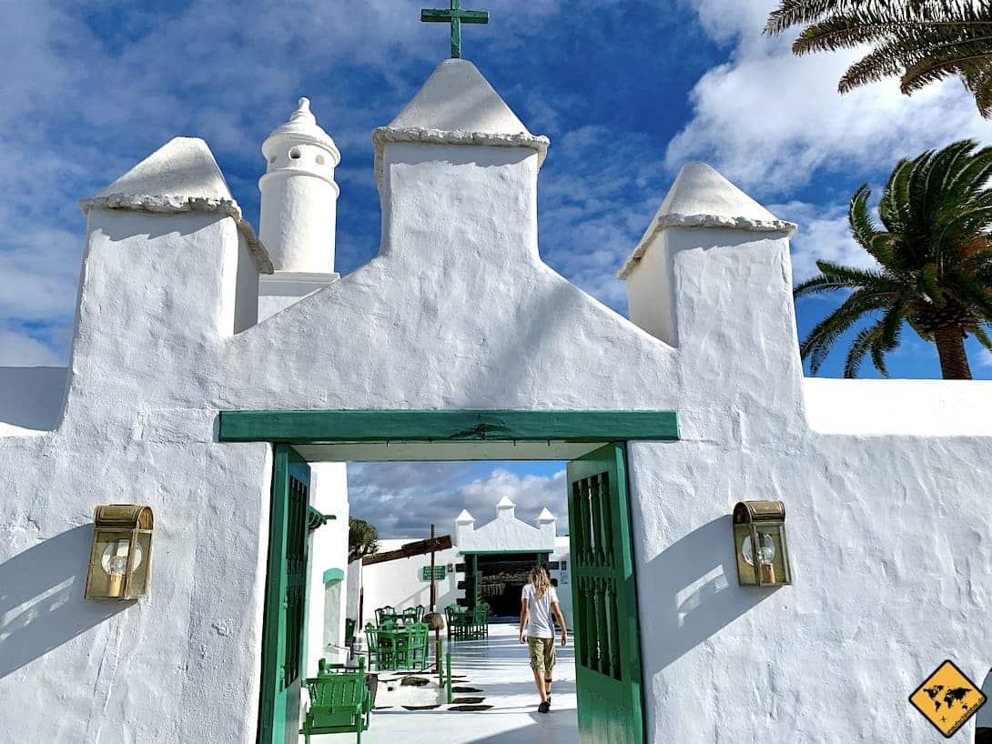 Eingang Monumento al Campesino Lanzarote