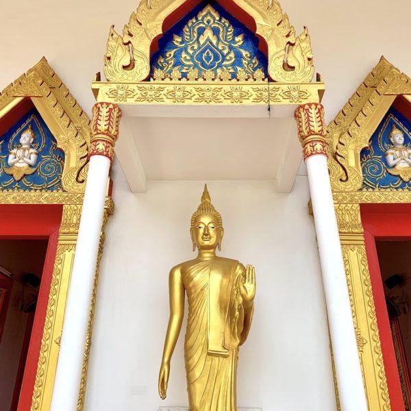 Eingang Wat Mongkol Nimit Phuket City