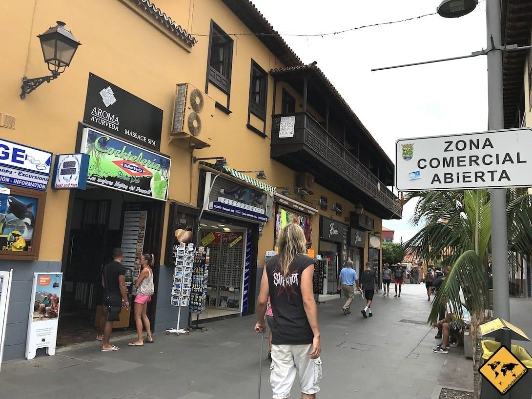 Einkaufen Puerto de la Cruz Teneriffa