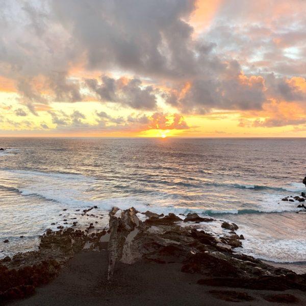 El Golfo Lanzarote Sonnenuntergang Meer
