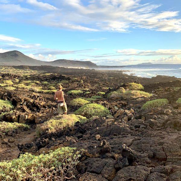 El Golfo Wanderung Lanzarote