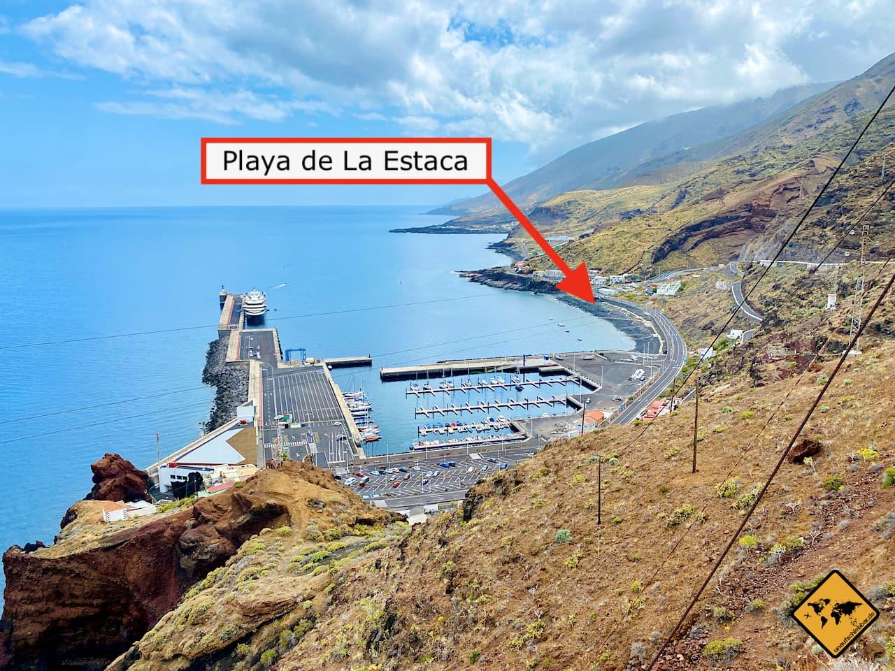 El Hierro Strände Playa de La Estaca