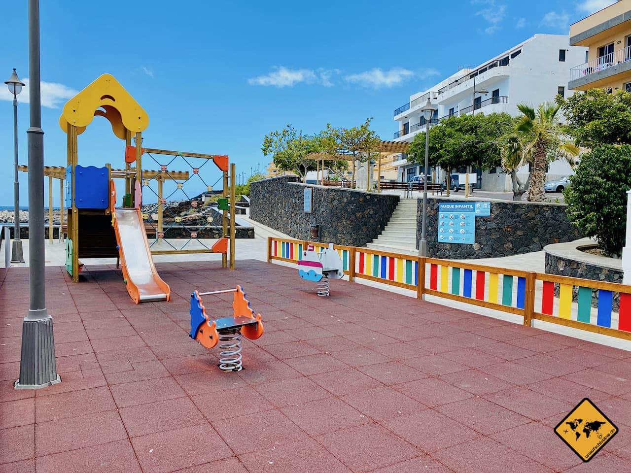 El Hierro mit Kindern Spielplatz La Restinga