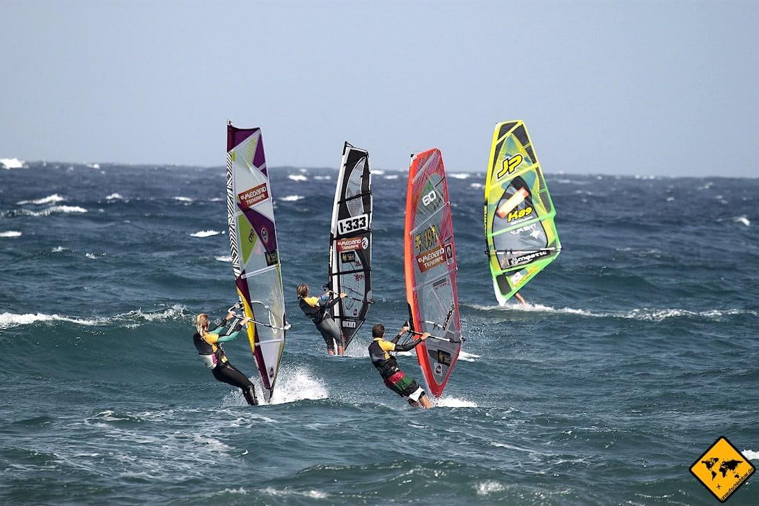 El Médano Teneriffa Windsurfen