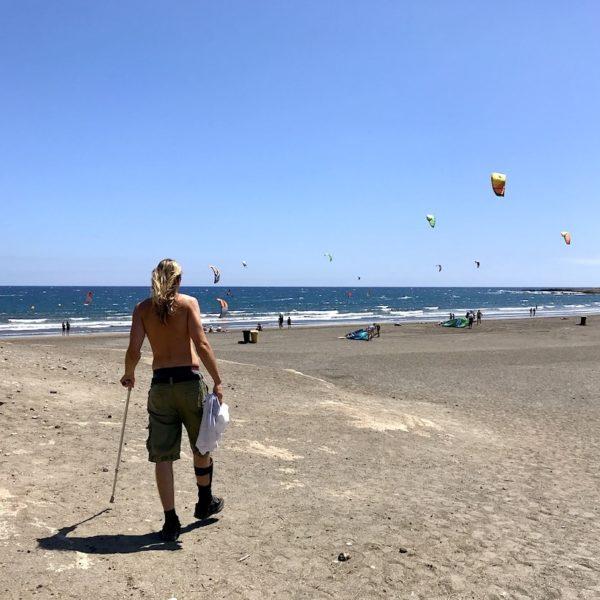 El Médano Teneriffa kitesurfen Playa Sur
