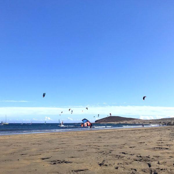 El Médano kitesurfen Strände auf Teneriffa