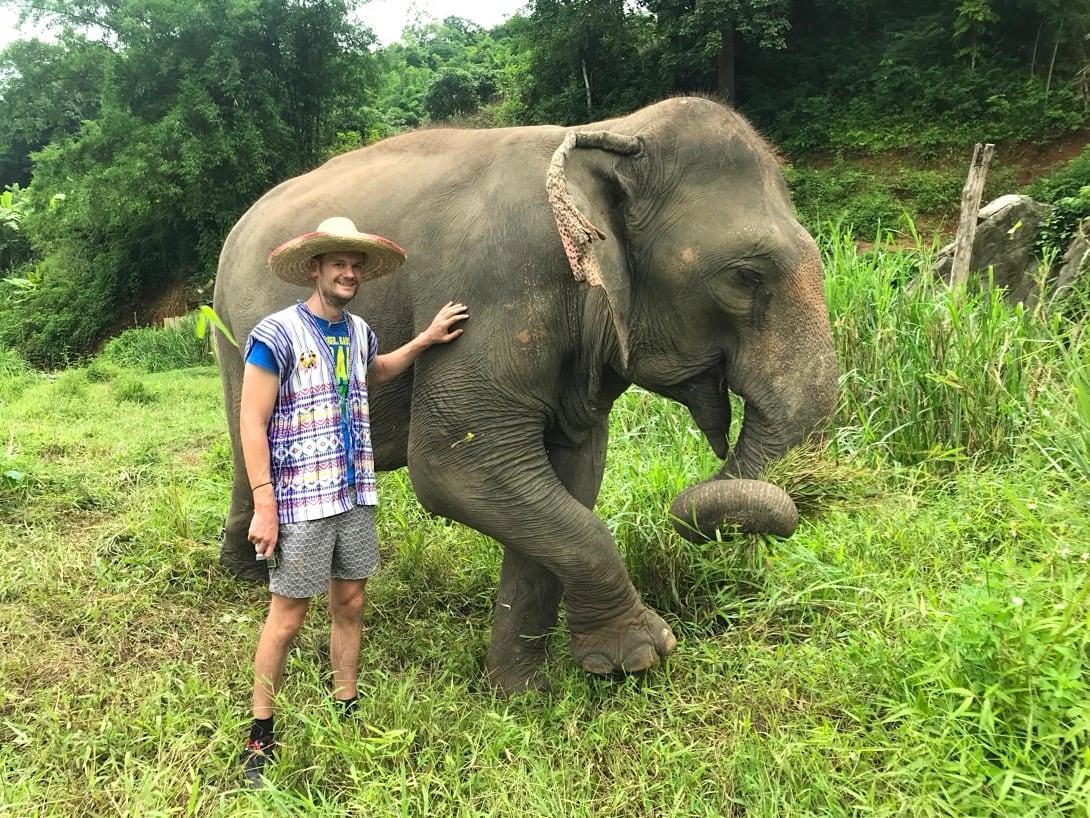 Elefanten Camp Chiang Mai Ausflüge