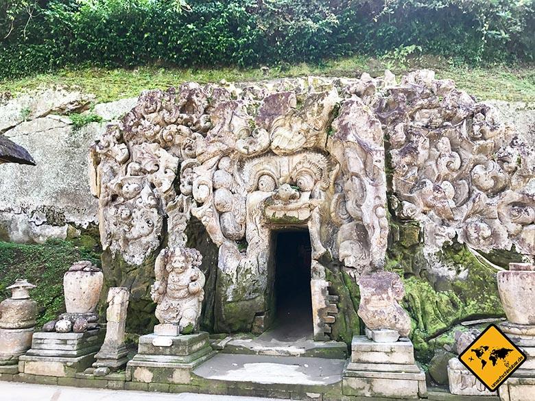 Elefantenhöhle Bali