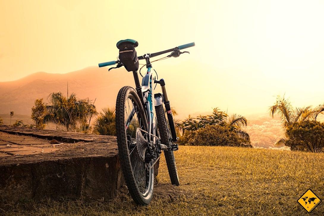 Erkundung Bagan Fahrrad