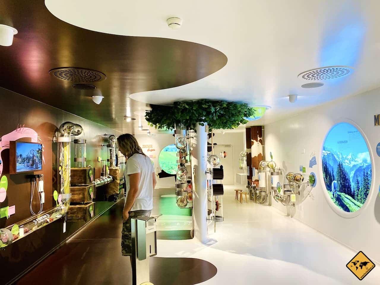 Erlebnis Tour Maestrani's Chocolarium Schweiz