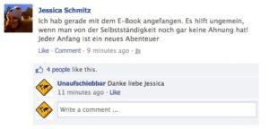 Facebook Testimonial Jessica