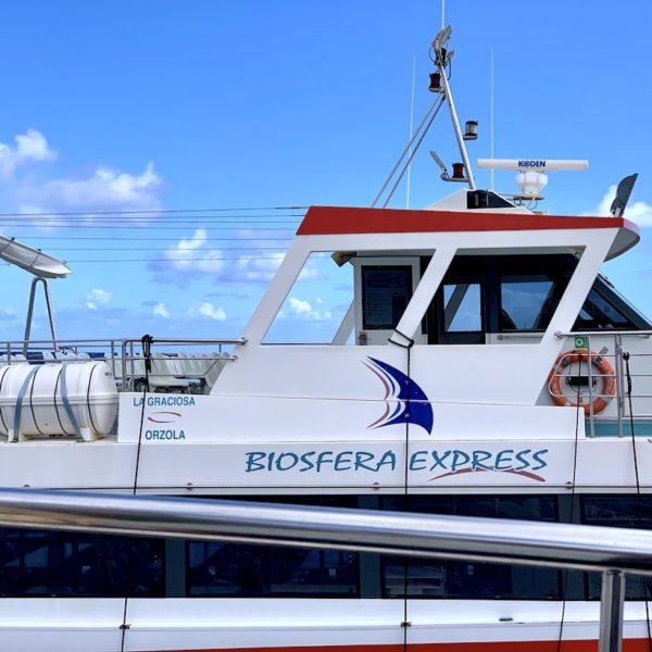 Fähre Lanzarote La Graciosa Biosfera Express