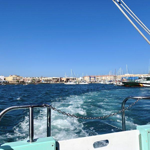 Fähre Meer Isla de Lobos Hafen Corralejo