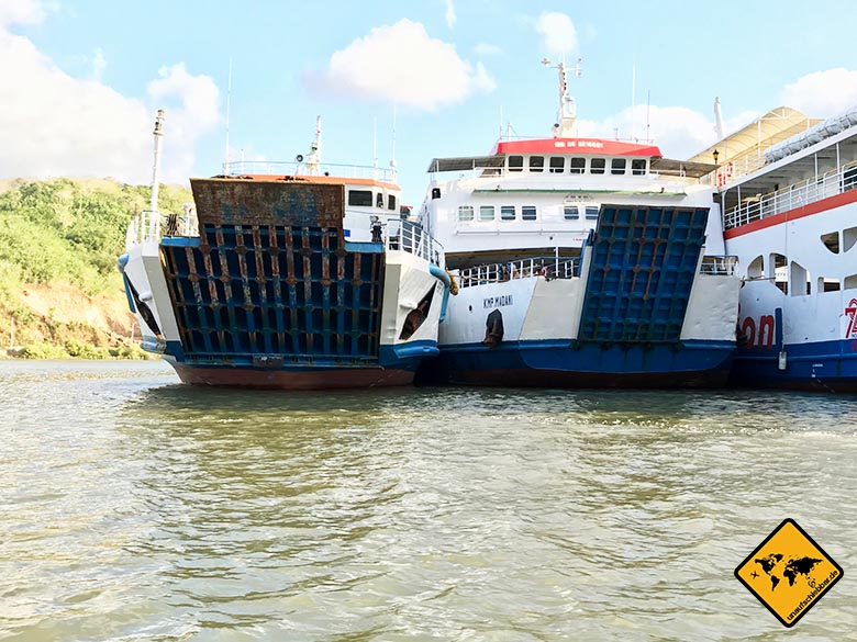 Fähren Lembar Hafen