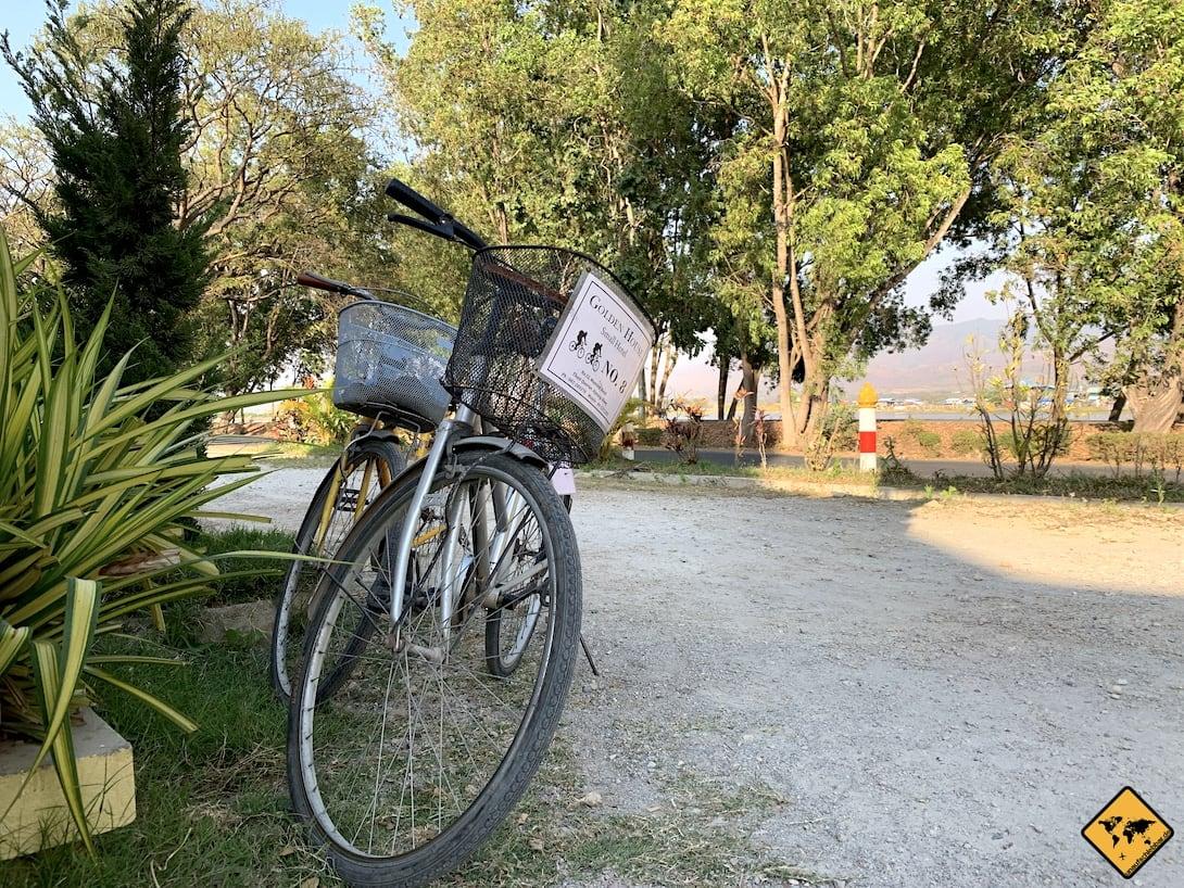 Fahrradtour Inle Lake Myanmar