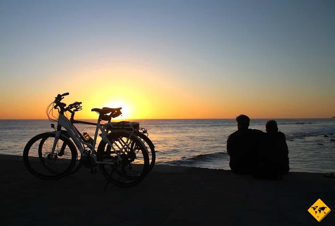 Fahrräder Meer Maspalomas