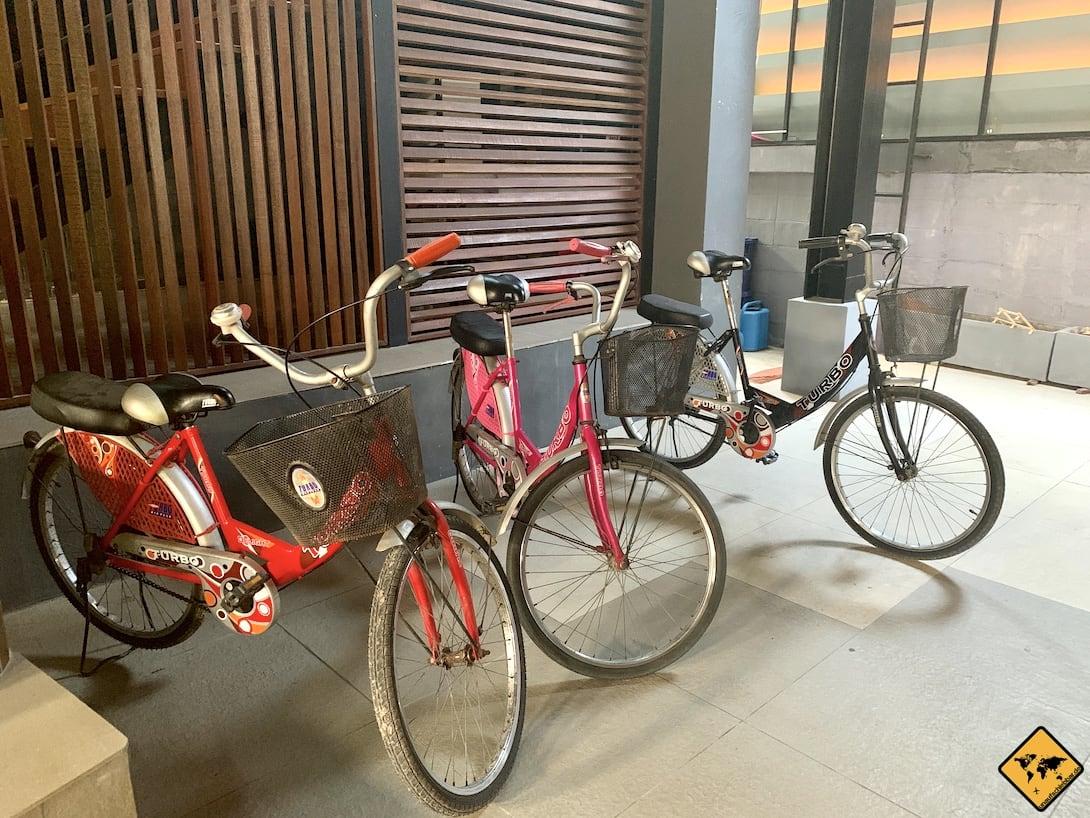 Fahrräder Rawai Beach