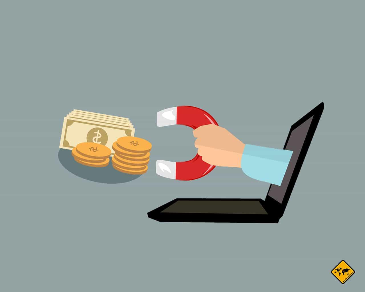 Fehler nicht auf Einkommensproduzierende Aktivitäten setzen