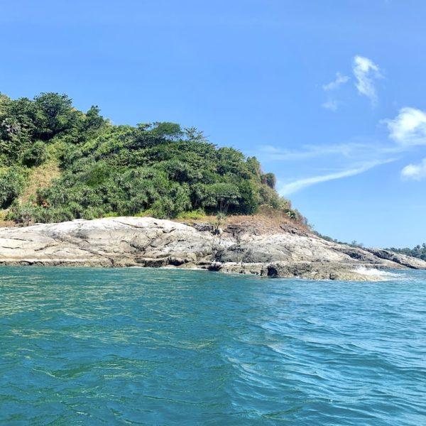 Felsen Ko Man Phuket